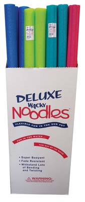 View WACKY NOODLES 51 INCH ASSORTED COLORS