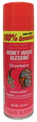 View MONEY HOUSE AIR FRESHENER 14.4 OZ. STRAWBERRY