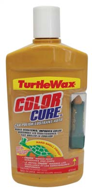 View TURTLEWAX CAR POLISH 16 OZ COLOR CURE WITH CHIPSTIK GOLD **MADE IN USA** FRENCH