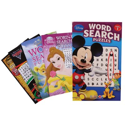 View DISNEY WORD SEARCH DIGEST SIZE ( PRINCESS CARS PLAYHOUSE FAIRIES ); 96 PAGES