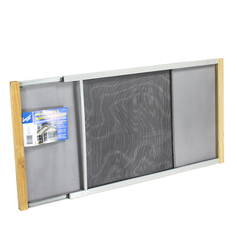 Expandable window screens pictures to pin on pinterest for Home depot window screens