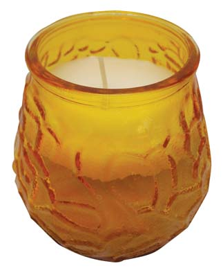 View VICTORY GLASS JAR CANDLE 8 OZ AMBER