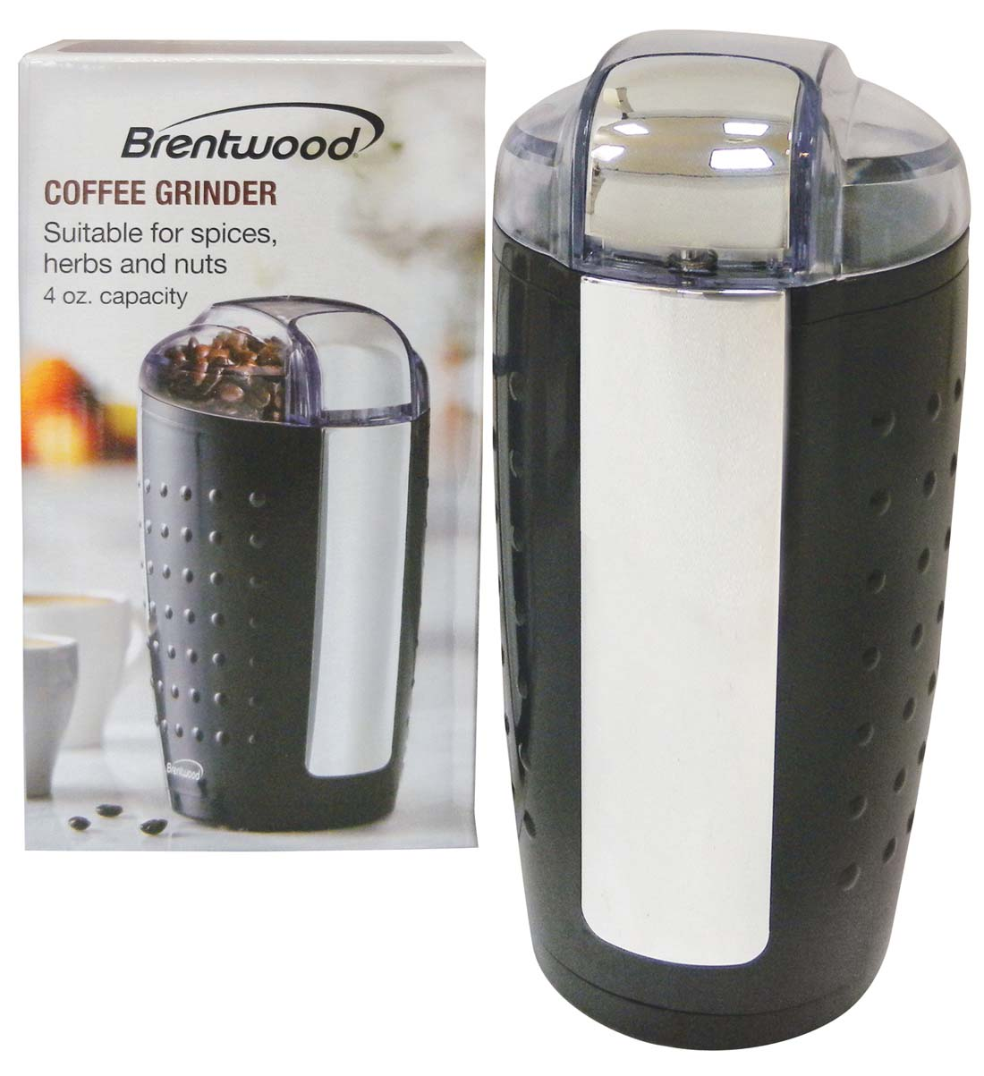 View BRENTWOOD COFFEE GRINDER 4 OZ. CETL LISTED