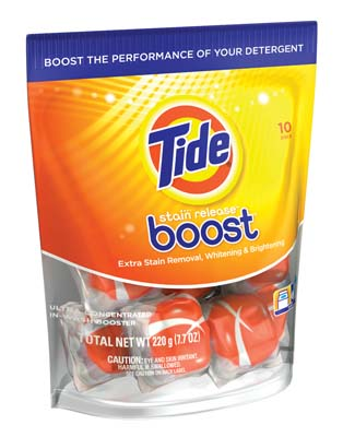 View TIDE BOOST PODS 10 PK 7.7 OZ WHITENING & BRIGHTENING