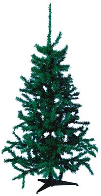View CHRISTMAS TREE 4 FEET 100 TIPS GREEN