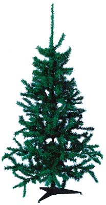 View CHRISTMAS TREE 6 FEET 400 TIPS GREEN