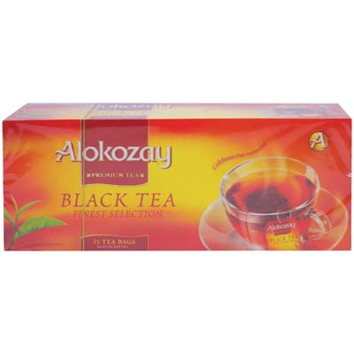 View ALOKOZAY BLACK TEA 25 COUNT 50 GRAMS