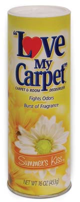 View LOVE MY CARPET CARPET & ROOM DEODORIZER 14 OZ SUMMER'S KISS