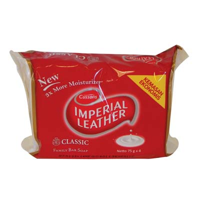 View IMPERIAL LEATHER SOAP 4 PACK CLASSIC