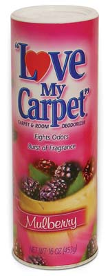 View LOVE MY CARPET CARPET & ROOM DEODORIZER 14 OZ MULBERRY