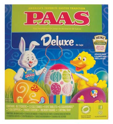 View PAAS DELUXE EGG DECORATING KIT
