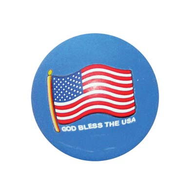 View SKY BOUNCE BALL US FLAG BLUE COLOR