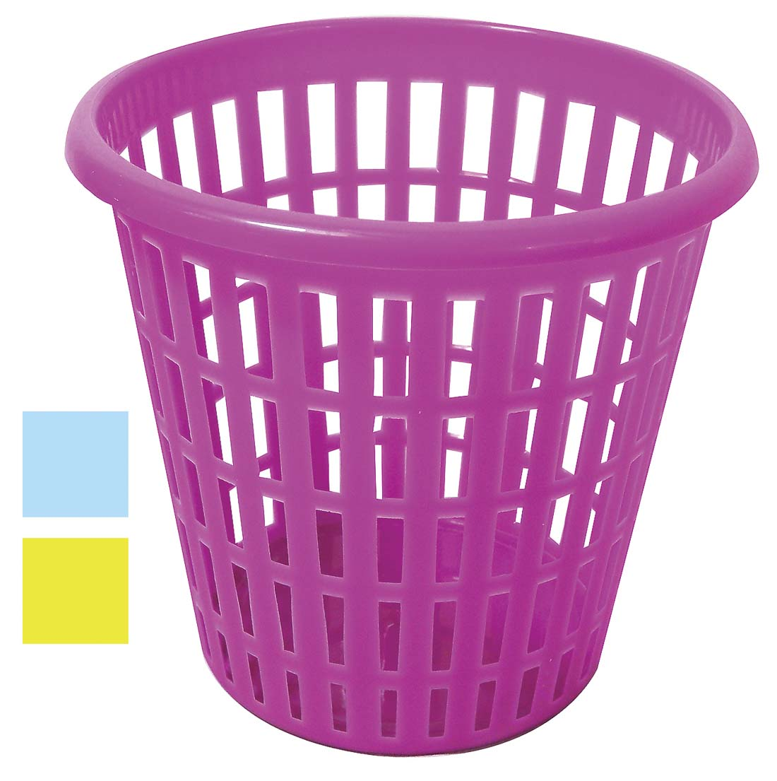 View STORAGE BASKET ROUND 6X6 INCHES ASSORTED COLORS