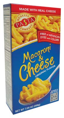 View QUALITY PASTA MACARONI & CHEESE 7.25 OZ ORIGINAL FLAVOR **MADE IN USA**