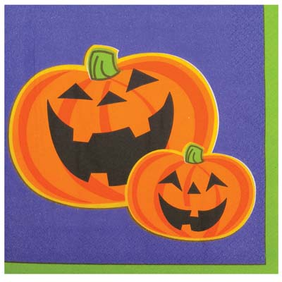 View LUNCHEON NAPKINS 30 COUNT 2-PLY HALLOWEEN