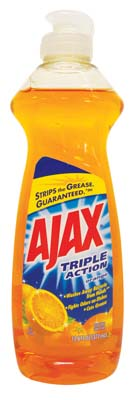 View AJAX DISHWASHING LIQUID 12.6 OZ ORANGE TRIPLE ACTION