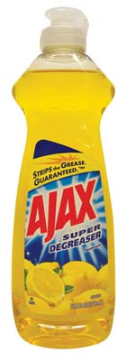 View AJAX DISHWASHING LIQUID 12.6 OZ LEMON SUPER DEGREASER