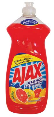 View AJAX DISHWASHING LIQUID 28 OZ BLEACH ALTERNATIVE GRAPEFRUIT **MADE IN USA**