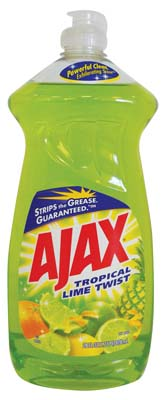 View AJAX DISHWASHING LIQUID 28 OZ TROPICAL LIME TWIST **MADE IN USA**