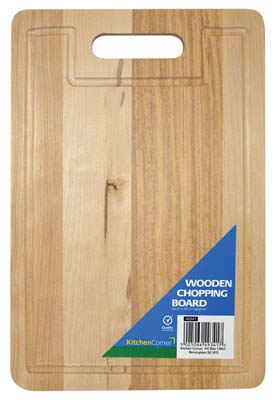 View HIGH QUALITY WOODEN CUTTING BOARD 12.5 X 8.75