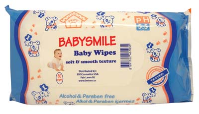 View BABY WIPES 80 COUNT SCENTED SOFT AND SMOOTH TEXTURE BLUE