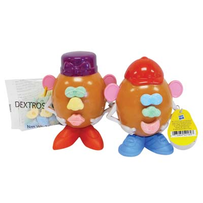 View MR POTATO HEAD CANDY FILLED EGGS 1 OZ