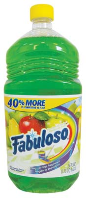 View FABULOSO ALL PURPOSE CLEANER 56 OZ PASSION FRUIT **MADE IN USA**