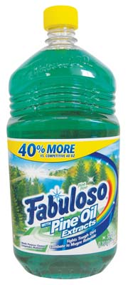 View FABULOSO ALL PURPOSE CLEANER 56 OZ PINE OIL