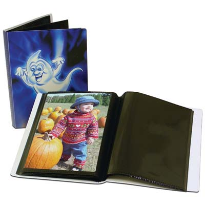 View HALLOWEEN PHOTO ALBUM ASSORTED DESIGNS (HOLDS 48 PHOTOS) PREPRICED AT $2.99