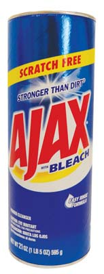 View AJAX POWDER CLEANSER 21 OZ WITH BLEACH SCRATCH FREE **MADE IN USA**