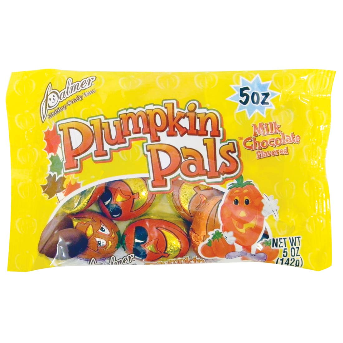 View PALMER MILK CHOCOLATE CANDY 5 OZ PUMPKIN PALS **MADE IN USA**