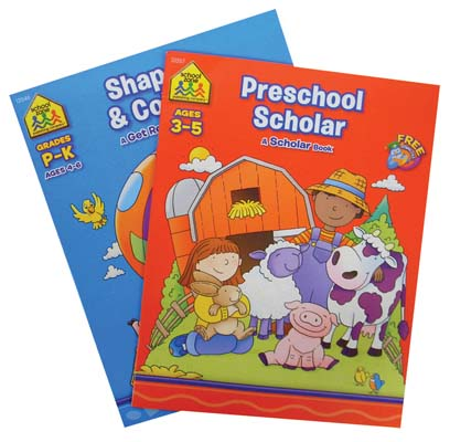 View PRESCHOOL WORKBOOKS  32 PAGES ASSORTMENT 8-TITLES
