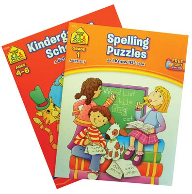 View KINDERGARTEN WORKBOOKS 32 PAGE- 8 TITLE ASSORTMENT