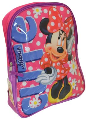 "View DISNEY BACKPACK MINNIE 16"" X 12"" X 5"""
