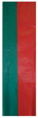 View PRIDE TISSUE PAPER 20 COUNT 20 X 20 INCHES 56 SQUARE FEET RED & GREEN
