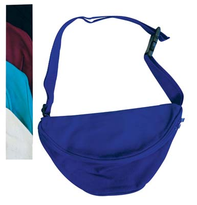 View FANNY PACK 10 X 6.5 INCH ASSORTED COLORS