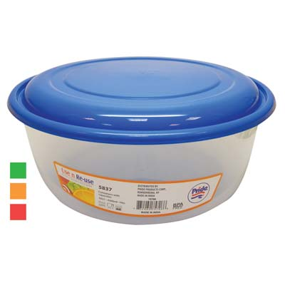 View ROLTA FOOD CONTAINER 152 OZ WITH ASSORTED COLORED LIDS
