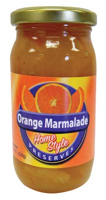 View HOMESTYLE 11.2 OZ ORANGE MARMALADE