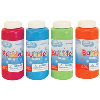 View BUBBLES W/WAND 8 OZ USA