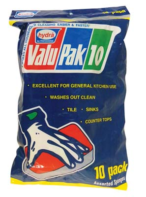 View VALUPAK CELLULOSE SPONGES 10 PK