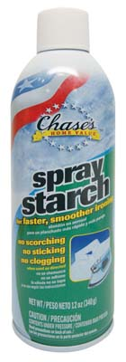 "View CHASE'S SPRAY STARCH 12 OZ ""MADE IN USA"""