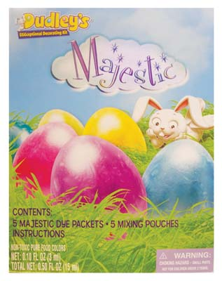 View DUDLEYS MAJESTIC EGG DECORATING KIT