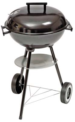 View BBQ CHARCOAL KETTLE 16 INCH ROUND WITH WHEEL