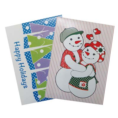 View CHRISTMAS GIFT BOX 2 PK 17.25 X 11 X 2.75 INCH LARGE ASSORTED DESIGNS