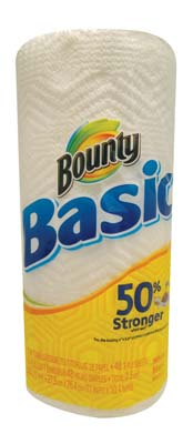 View BOUNTY BASIC PAPER TOWELS 48 SHEETS 1 PLY