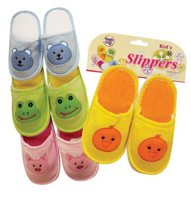 View KID'S SLIPPERS ASSORTED SIZES & DESIGNS