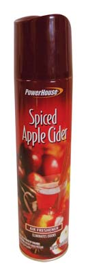 View POWERHOUSE AIR FRESHENER 10 OZ SPICED APPLE CIDER