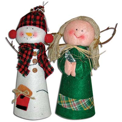 View HANDCRAFTED CHRISTMAS DOLL 10 INCH ASSORTED DESIGNS PREPRICED AT $2.99
