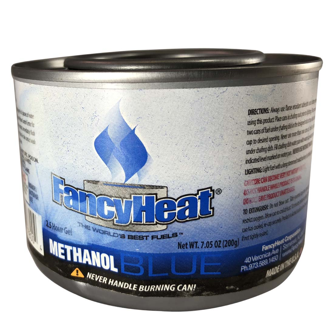 View FANCY HEAT FUEL STERNO 7.05 OZ (200g) 2.5 HOUR METHANOL GEL ***CANNOT BE SOLD IN PENNSYLVANIA***